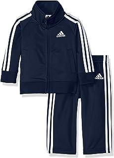 f141ed9c3 Amazon.com: adidas Boys' Tricot Jacket and Pant Set: Clothing