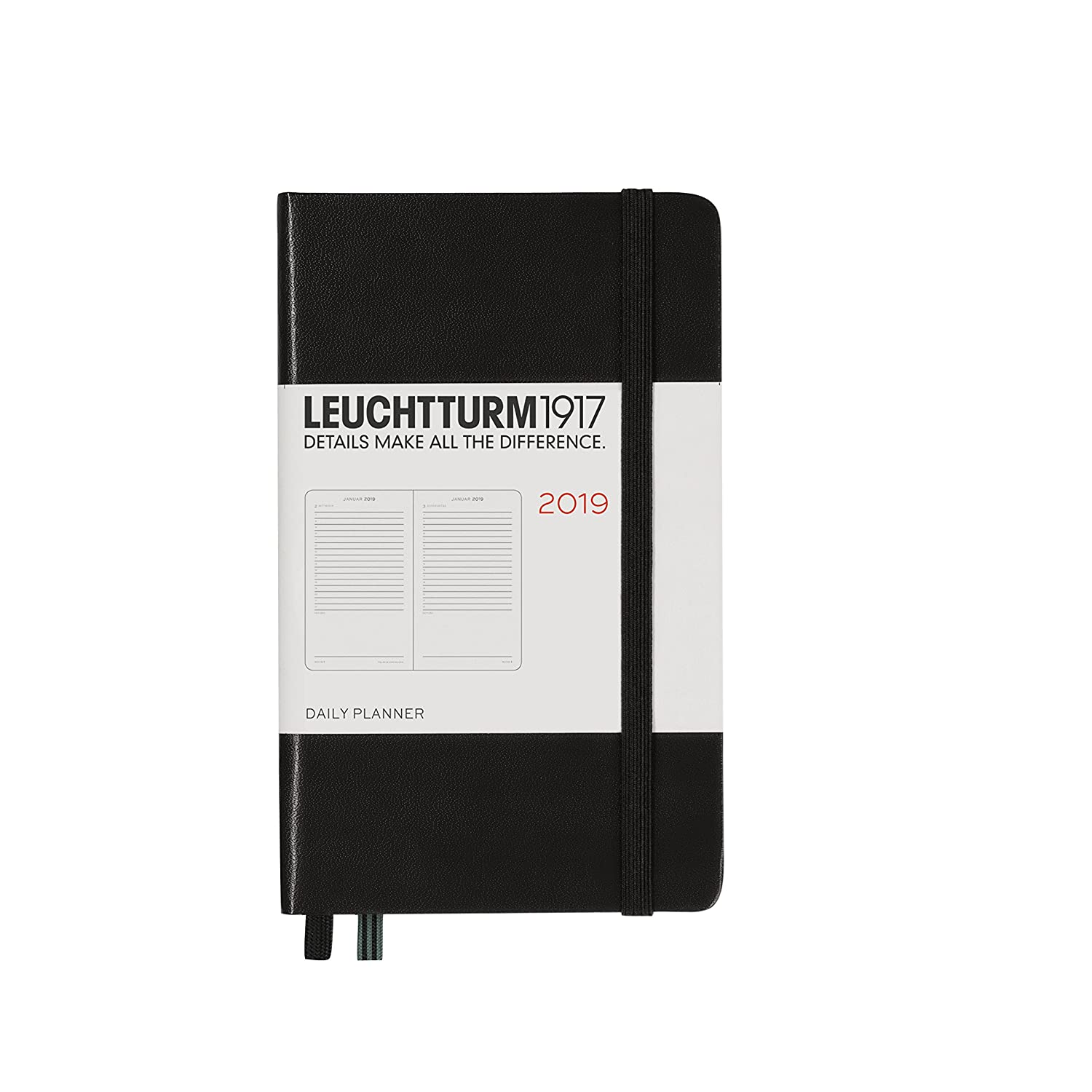 Amazon.com : Leuchtturm1917 357876 Daily Planner 2019 ...