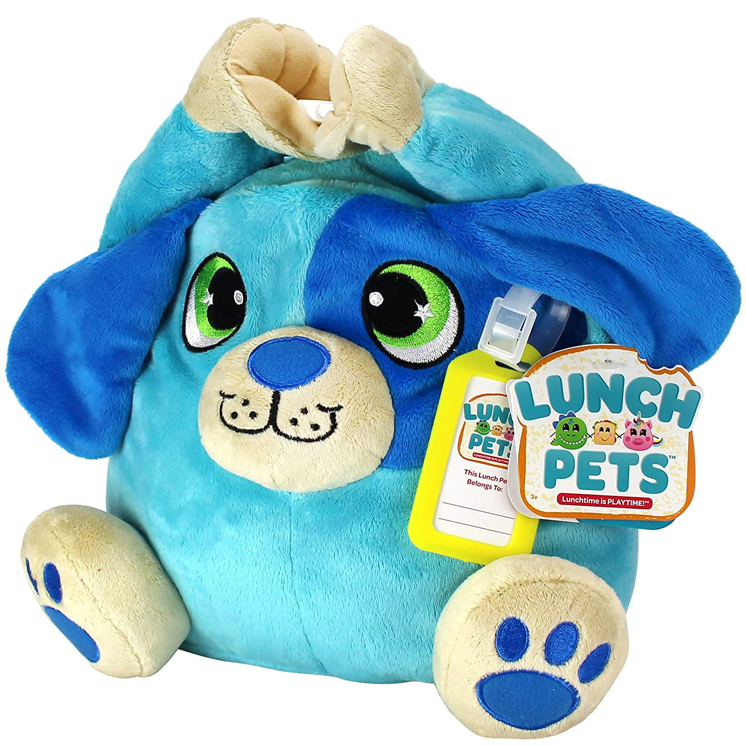 c91d37177 Amazon.com: Lunch Pets Amazing Plush Animal Combination - HungryPup Kids  Lunch Box, Travel Size, Blue: Kitchen & Dining