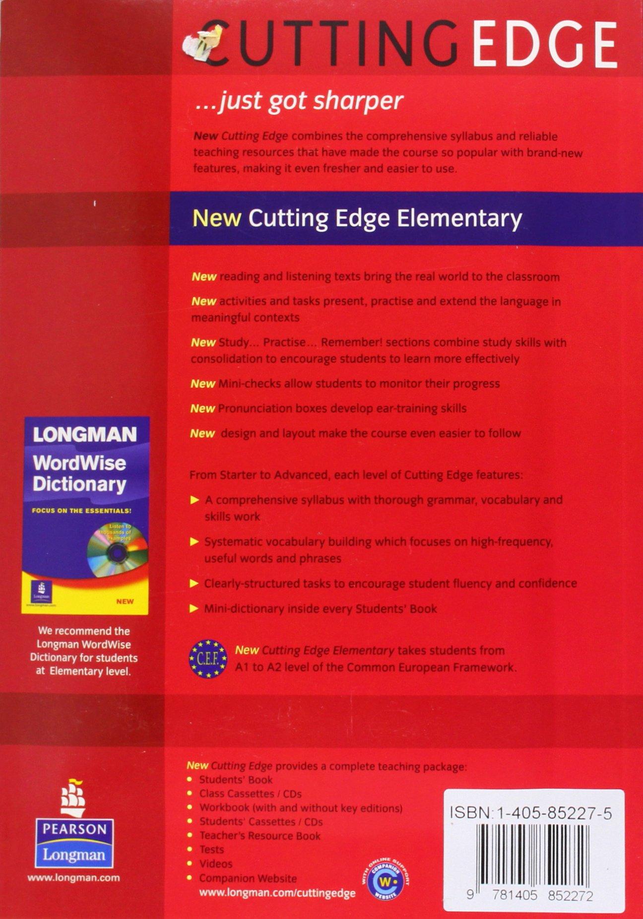 Cutting Edge Elementary Teachers Book