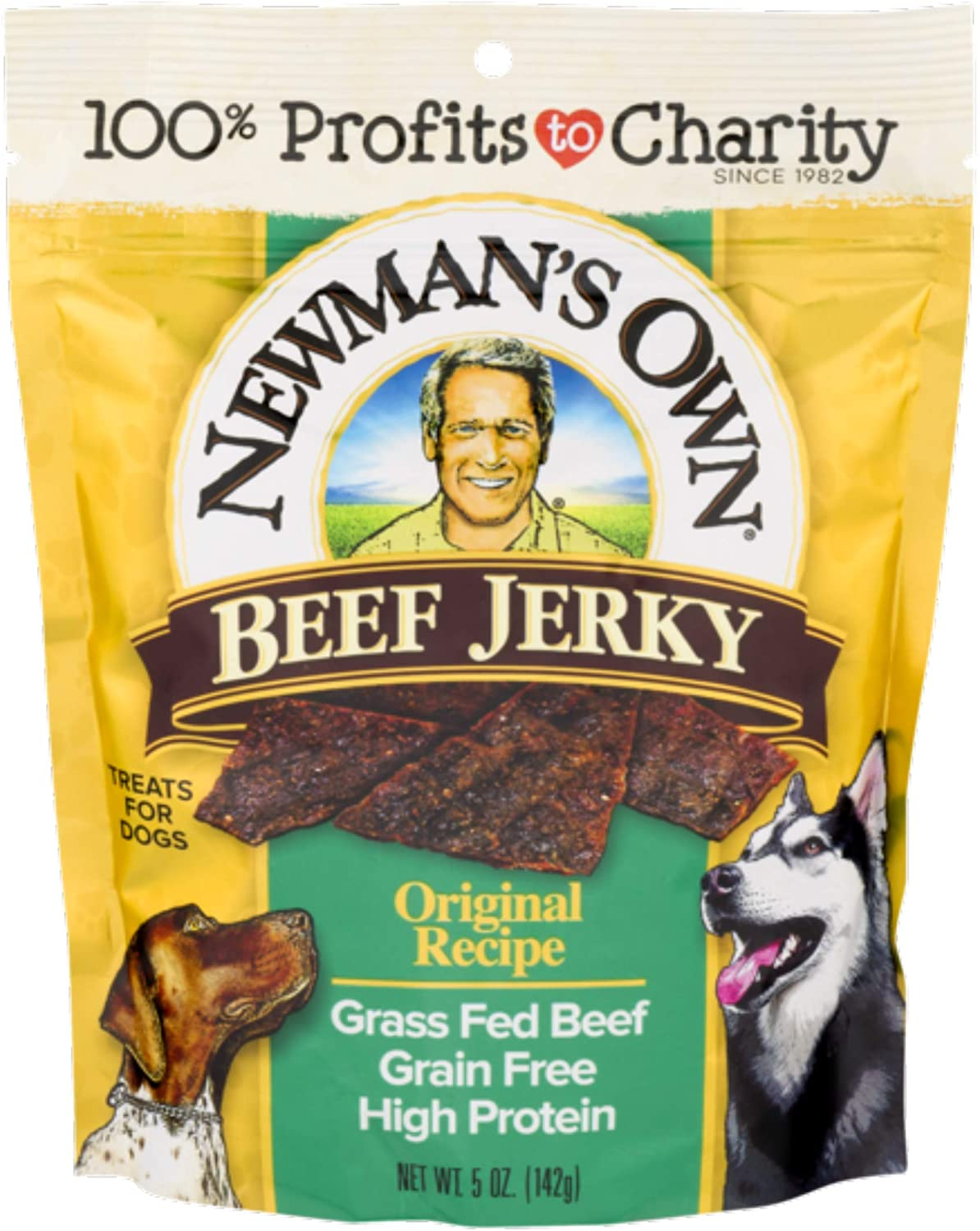 Newman s Own Jerky Treats for Dogs, 5-oz. Pack of 6