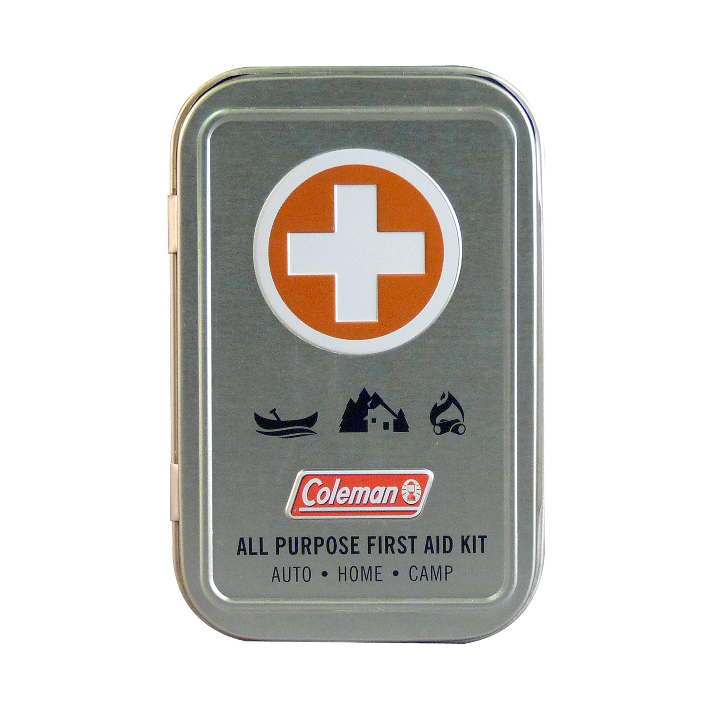 Coleman All Purpose Mini First Aid Kit - 27 Piece , Silver
