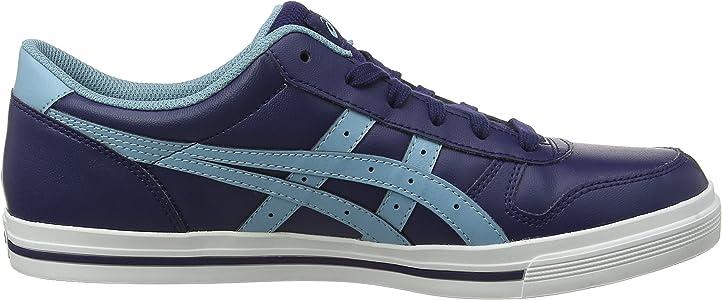 Asics Aaron, Zapatillas de Gimnasia para Hombre, Azul (Peacoat/Gris Blue 400), 39 EU: Amazon.es: Zapatos y complementos