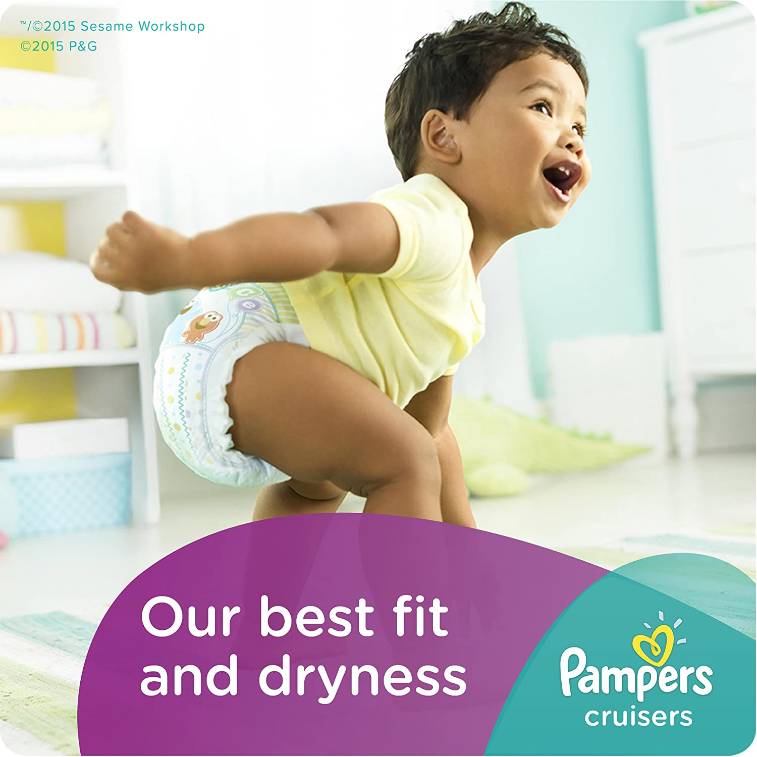 Amazon pampers cruisers disposable diapers size 7 92 count amazon pampers cruisers disposable diapers size 7 92 count economy pack plus health personal care nvjuhfo Image collections