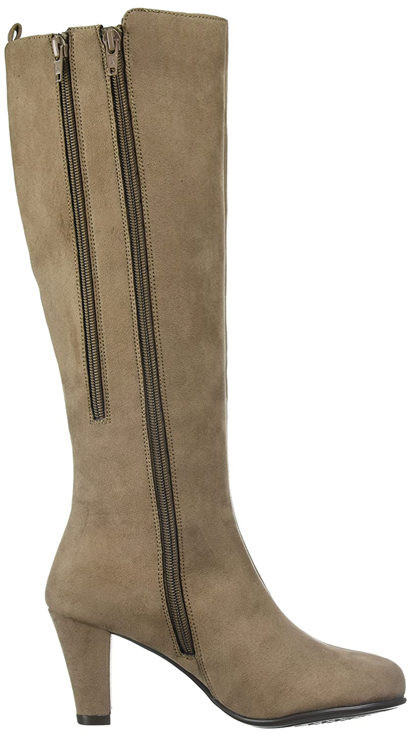 Aerosoles Women's Quick B074GGR2BW Role Knee High Boot B074GGR2BW Quick 5 M US|Taupe Fabric 952ea8