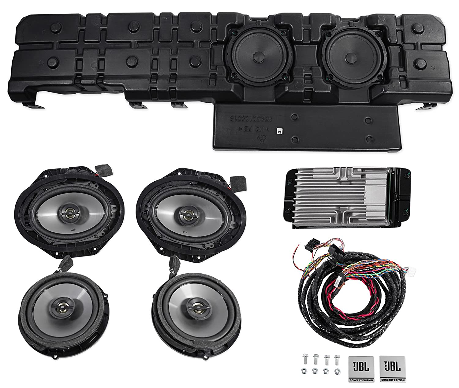 Jbl Concert Edition Audio System For The 2015 18 Ford Jeep Wrangler Wiring Harness Gallery Of Cars And Accessories F150 Car Electronics