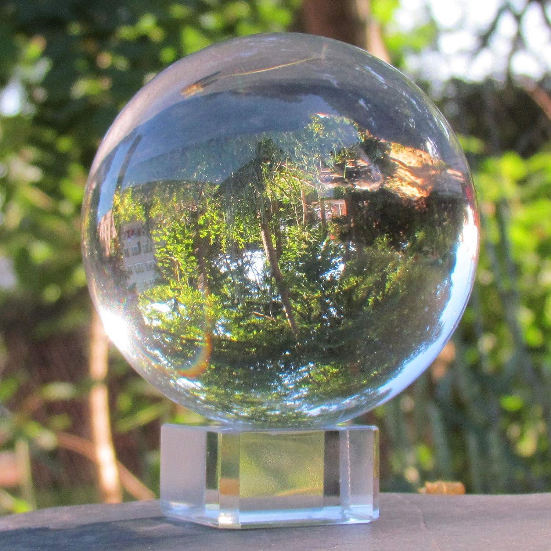 F/ête Claire Ornements Magiques de Verre D/écoration de Boule de pour la D/écoration de Photographie Maison 60mm //2.4 Sunsbell Boule de Cristal