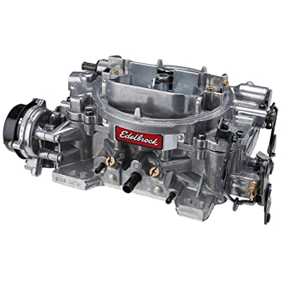 Edelbrock EDL-1826 Thunder Series 650 CFM Square Bore 4-Barrel Electric Choke New Carburetor: Automotive