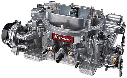 Edelbrock EDL-1826 Thunder Series 650 CFM Square Bore 4-Barrel Electric  Choke New Carburetor