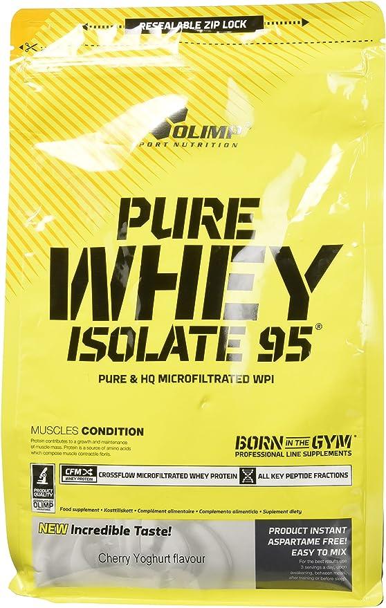 Olimp Pure Whey Isolate 95 Zip Bag Proteínas - 600 gr