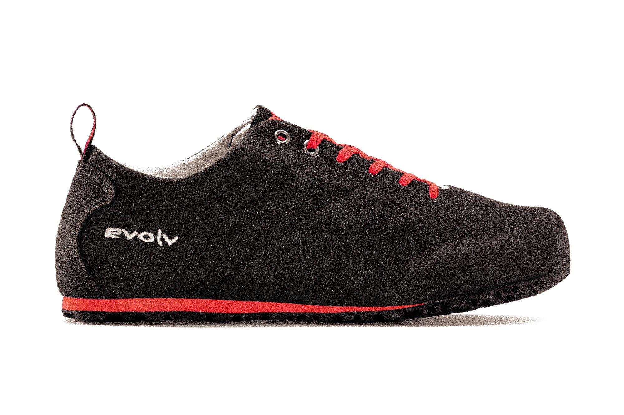 Evolv Cruzer Psyche Approach Shoe - Black 9