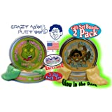 "Crazy Aaron's Thinking Putty Exclusive ""Lizard Lips"" Heat Sensitive Hypercolor 3.2oz Tin & Exclusive ""Scorpion Skin"" Glow In The Dark 3.2oz Tin Gift Set Bundle - 2 Pack"