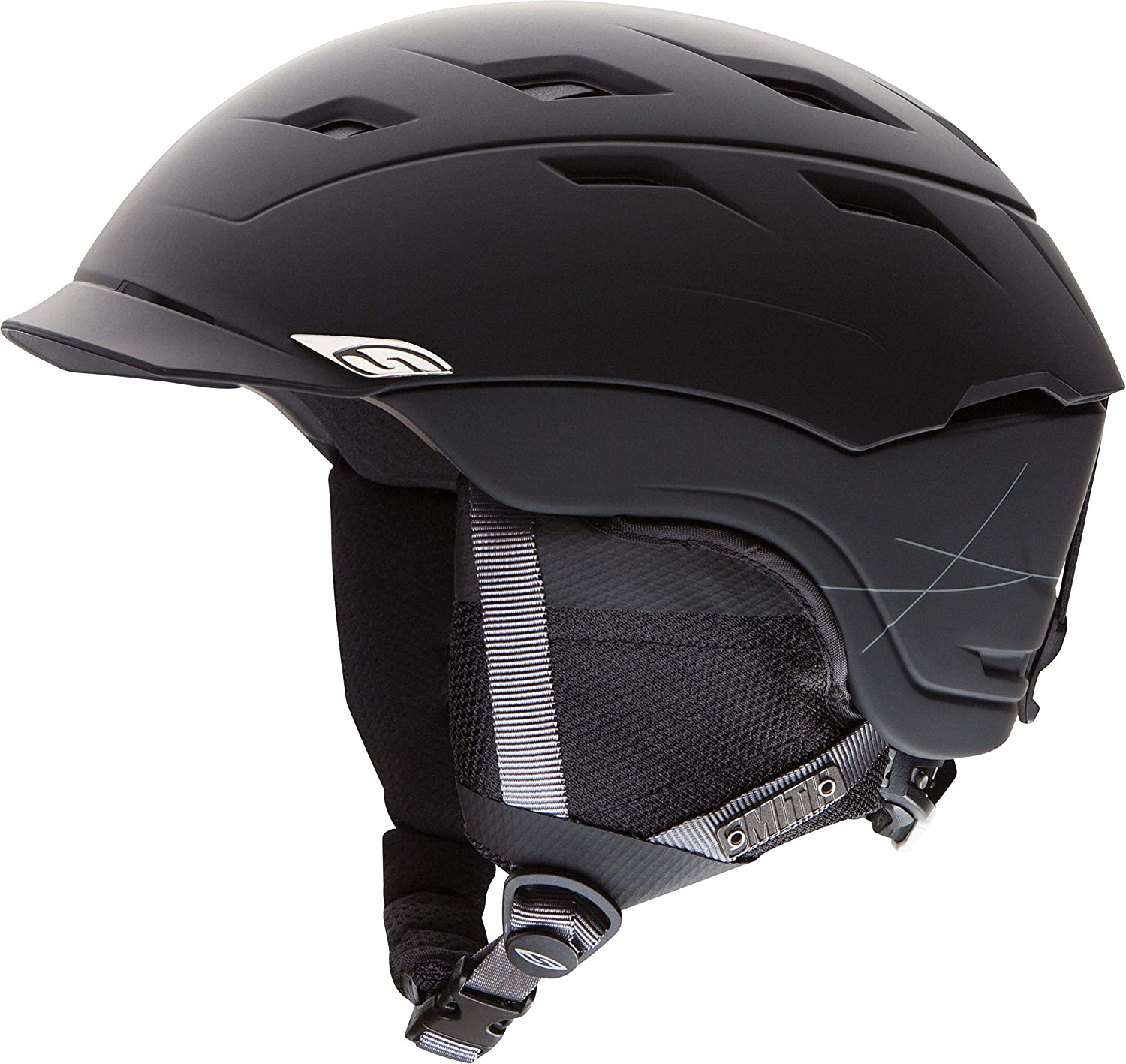 Smith Optics Variance Adult A surprise price Challenge the lowest price of Japan is realized Ski Snowmobile Matte - Black Helmet