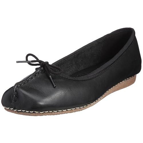 wie man wählt 2018 Schuhe Shop für echte Clarks Damen Freckle Face Ballerinas