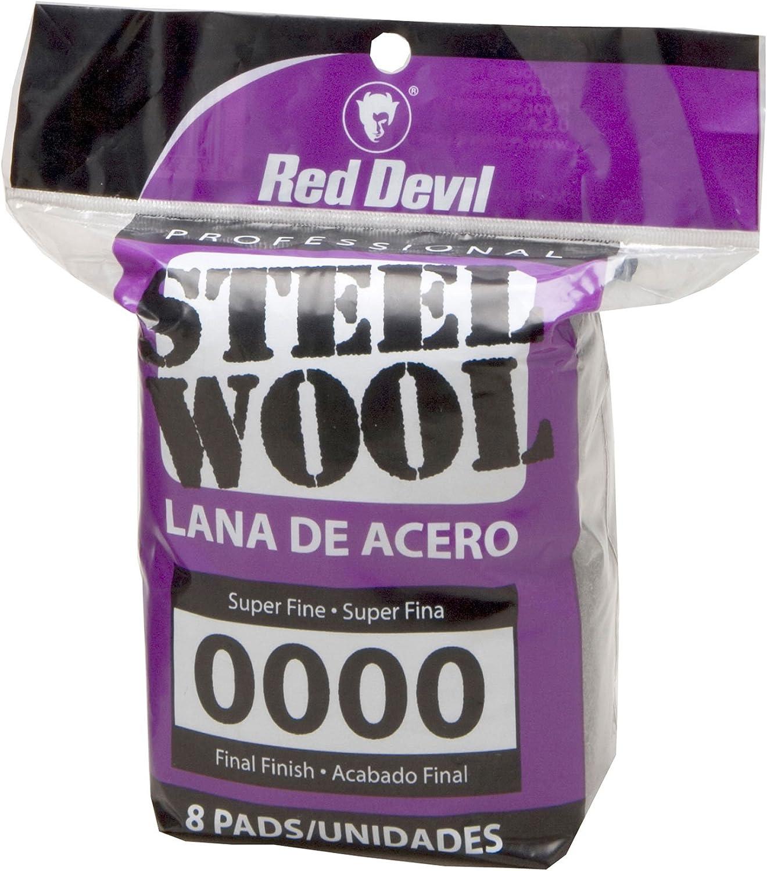 New Version Red Devil 0320 Steel Wool 0000 Super Fine