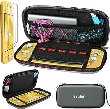 iVoler Funda con Protector pantalla para Nintendo Switch Lite ...