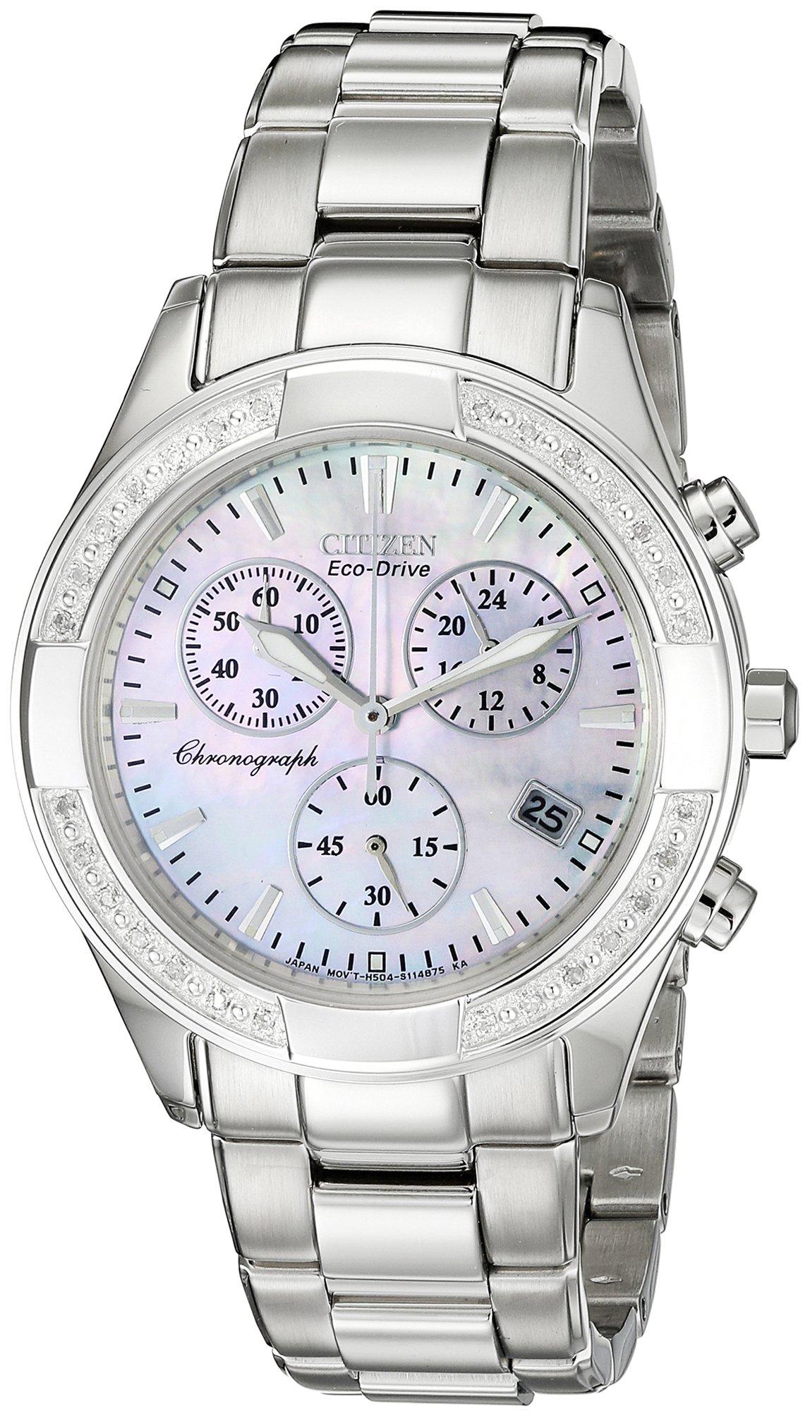 Citizen Women's FB1220-53D Regent Chronograph Eco-Drive Ladies' Watch
