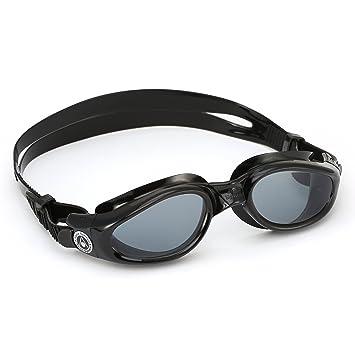 45bae28a5 Óculos de Natação Aqua Sphere Kaiman Lente Fumê Preto  Amazon.com.br ...