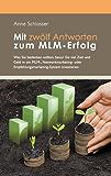 Mit zwölf Antworten zum MLM-Erfolg: Was Sie bedenken sollten, bevor Sie viel Zeit und Geld in ein MLM-, Networkmarketing- oder Empfehlungsmarketing-System investieren.