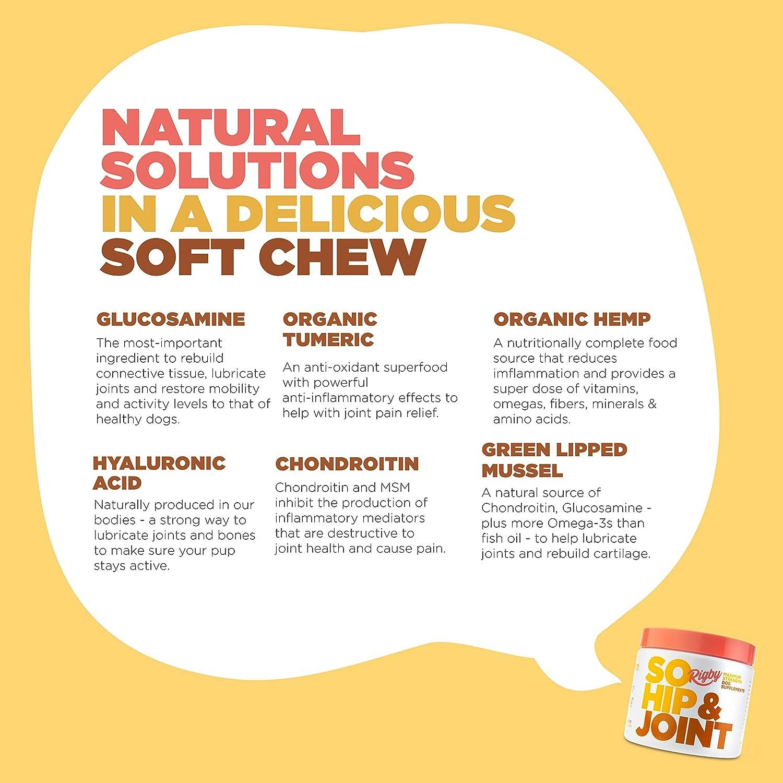 Amazon.com: Rigby So Hip & Joint Glucosamina avanzada para ...