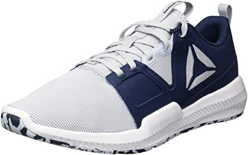 154f4cdb638 Reebok Men s Hydrorush Tr Sneaker White Cloud Grey Collegiate  Navy Porcelain 12.5 D