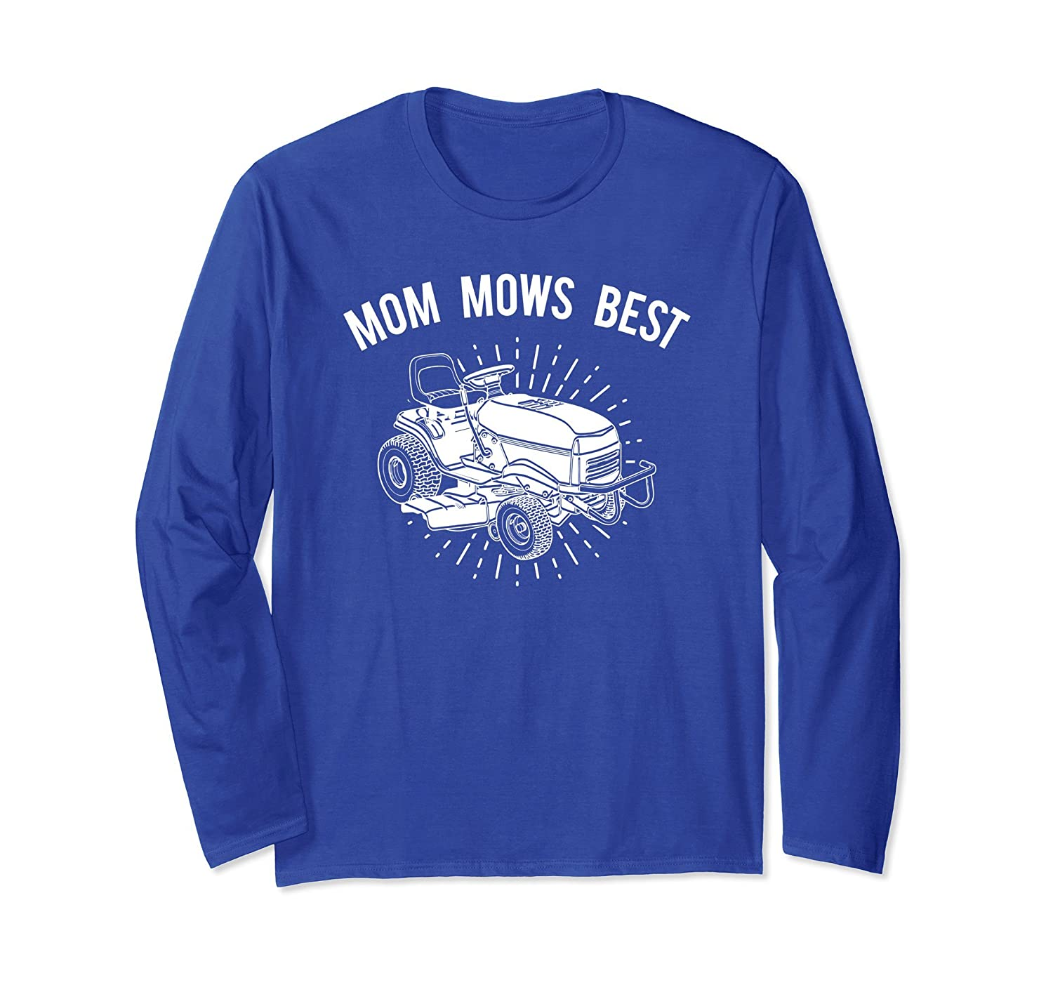 Lawnmower Long Sleeve Shirt, Mothers Day Apparel Gift-alottee gift