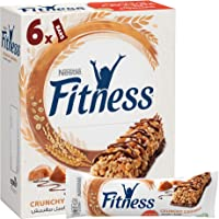 Nestle Fitness Caramel Cereal bar 25g (6 Bars)