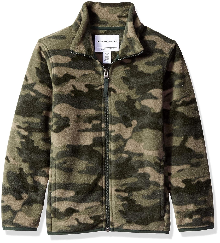 Essentials Boys Full-Zip Polar Fleece Jacket Ni/ños