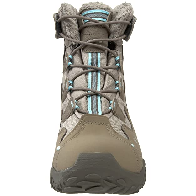Amazon.com | Salomon Womens Snowtrip TS Waterproof Winter Shoe, Thyme/Majoram/Aqua Tint, 10.5 M US | Snow Boots