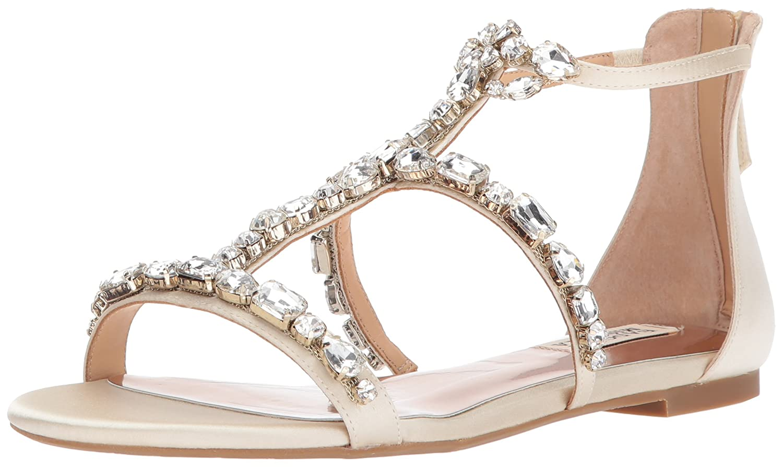 e18ad908e Amazon.com | Badgley Mischka Women's Waren Flat Sandal | Flats
