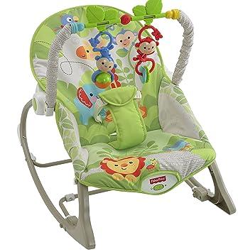 Fisher-Price Rainforest Infant To Toddler Rocker Green Rainforest  sc 1 st  Amazon.com & Amazon.com: Fisher-Price Rainforest Infant To Toddler Rocker Green ...