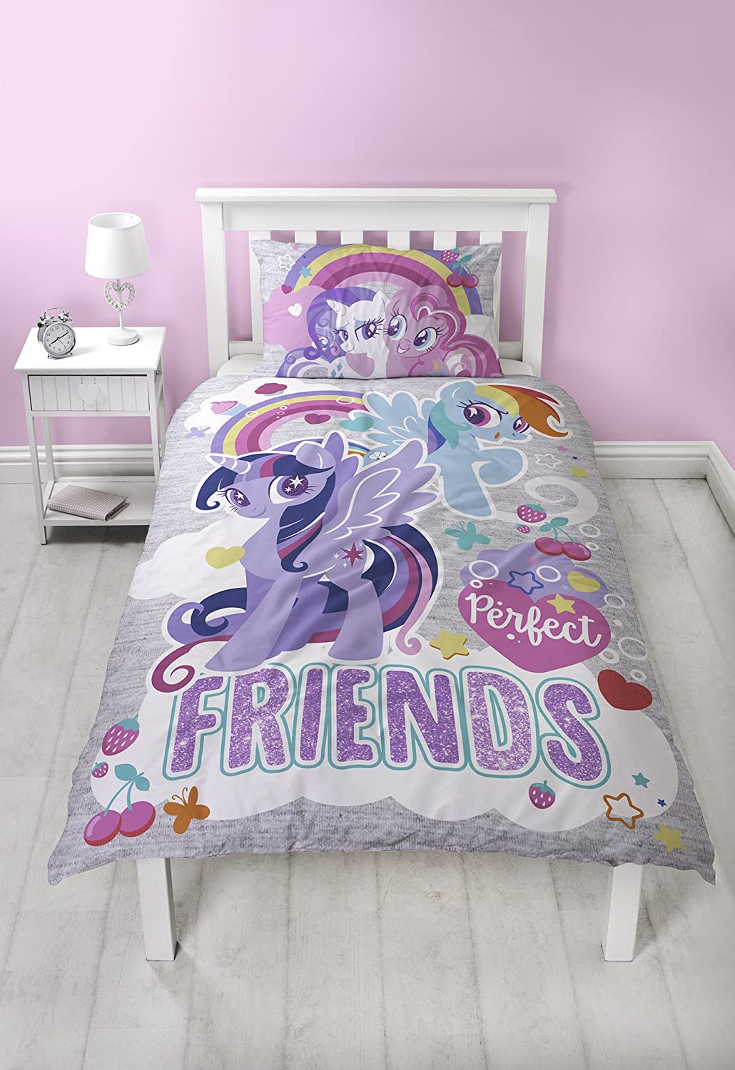 My Little Pony Crush | Childrens Bedroom 54 Inch Curtains | Perfect For Any Girls Bedroom Character World MLPCRU54001UK