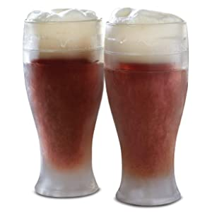 Refinery and Co. Beer Glass Pint Cooling 2pc