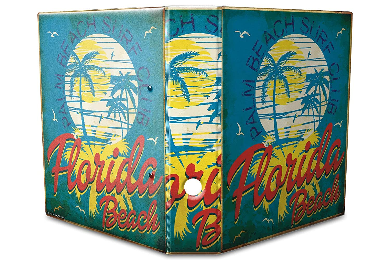 Motiv Akten Ordner Bedruckt 60mm DIN A4 Florida Strand
