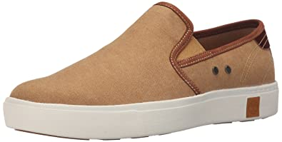 892a88969f Timberland Men's Amherst Slip-On Fashion Sneaker, Brown, 9 M US ...