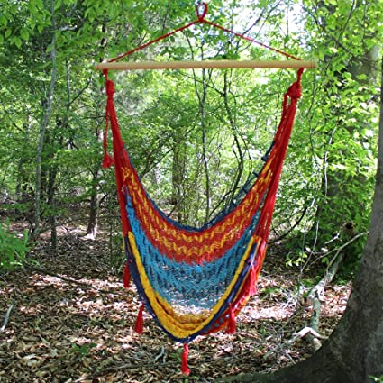 Mayan Hammocks Traditional Mayan Hammock Chair   Tropical