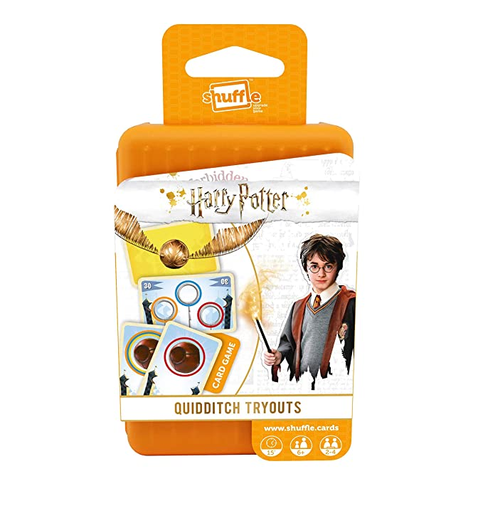 Amazon.com: Shuffle 100243004 Harry Potter Card Game,: Toys ...