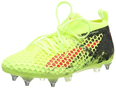 Puma Future 18.3 TT, Chaussures de Football Homme, Jaune (Fizzy Yellow-Red 40098ee06a8f