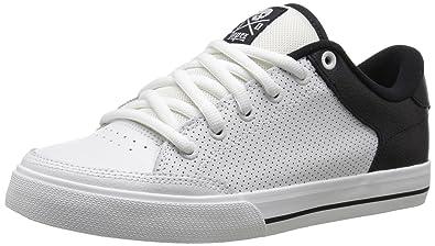 c3ec6df0c23f C1RCA Men s AL50 SE-M Skateboard Shoe White Black 9.5 ...