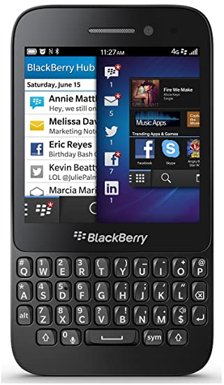 Blackberry Q5 SQR100-3 8GB Unlocked GSM Dual-Core OS 10 2 Cell Phone - Black