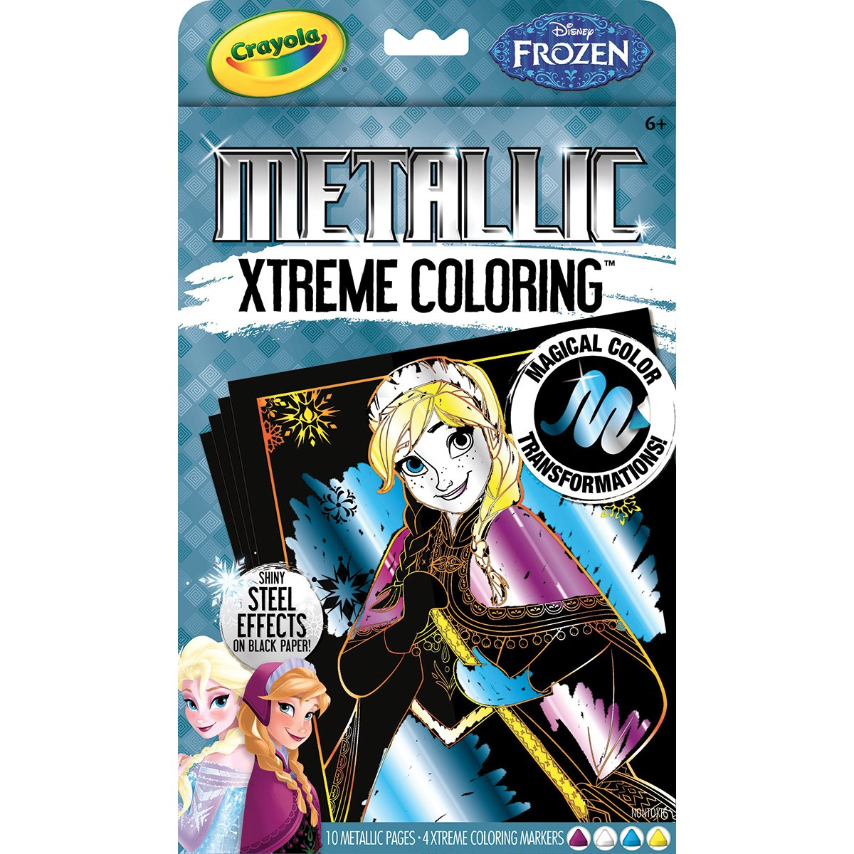 Amazon.com: Crayola Frozen Xtreme Coloring Metallic Set: Toys & Games