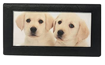 amazon com lab puppy checkbook cover with check register labrador