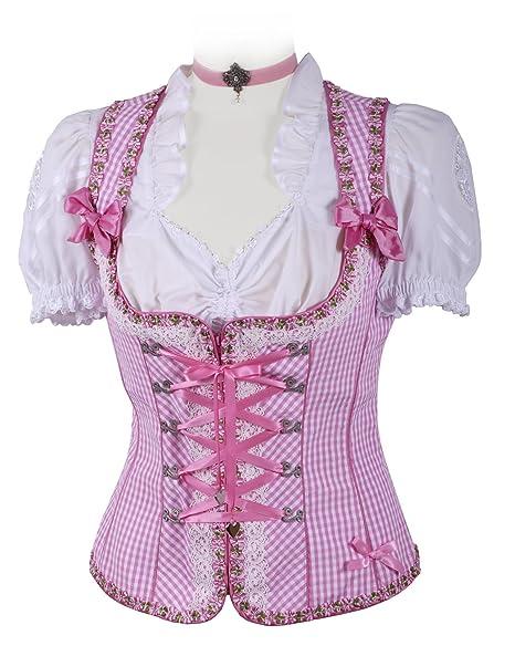 Sexy traje regional/Corpiño Lencería Mujer - Tirolesa mieder ...