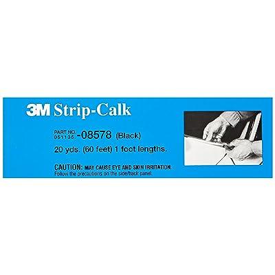 3M Strip Calk, 08578, Black, 1 ft Strips, 60 per carton: Garden & Outdoor