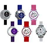 ALKNANDA Analogue Multicolour Dial Women's and Girl's Watch -F_COMBO_6
