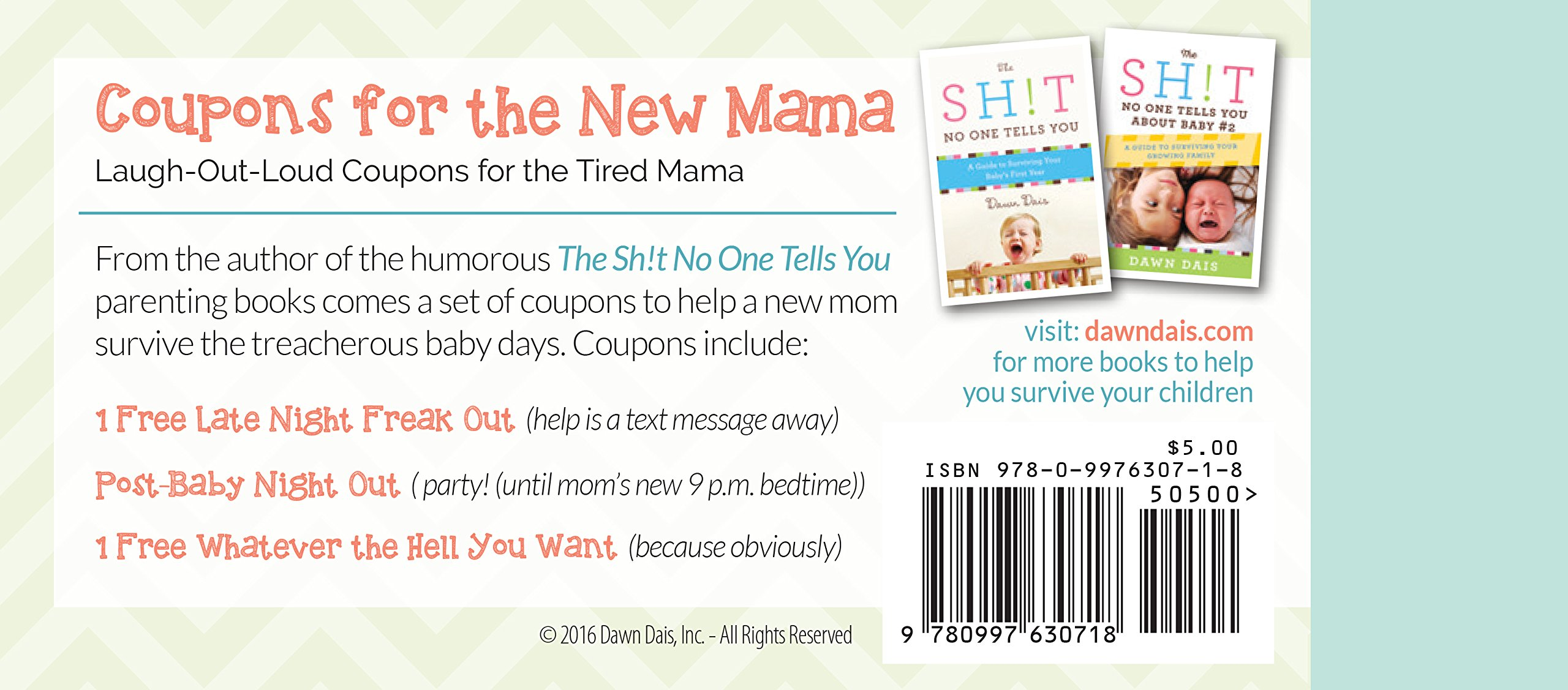 Coupons for the New Mama - From Your BFF: Dawn Dais