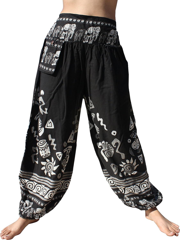 RaanPahMuang Viscose Rayon Taj Mahal Casual Pants with Hanging Pocket