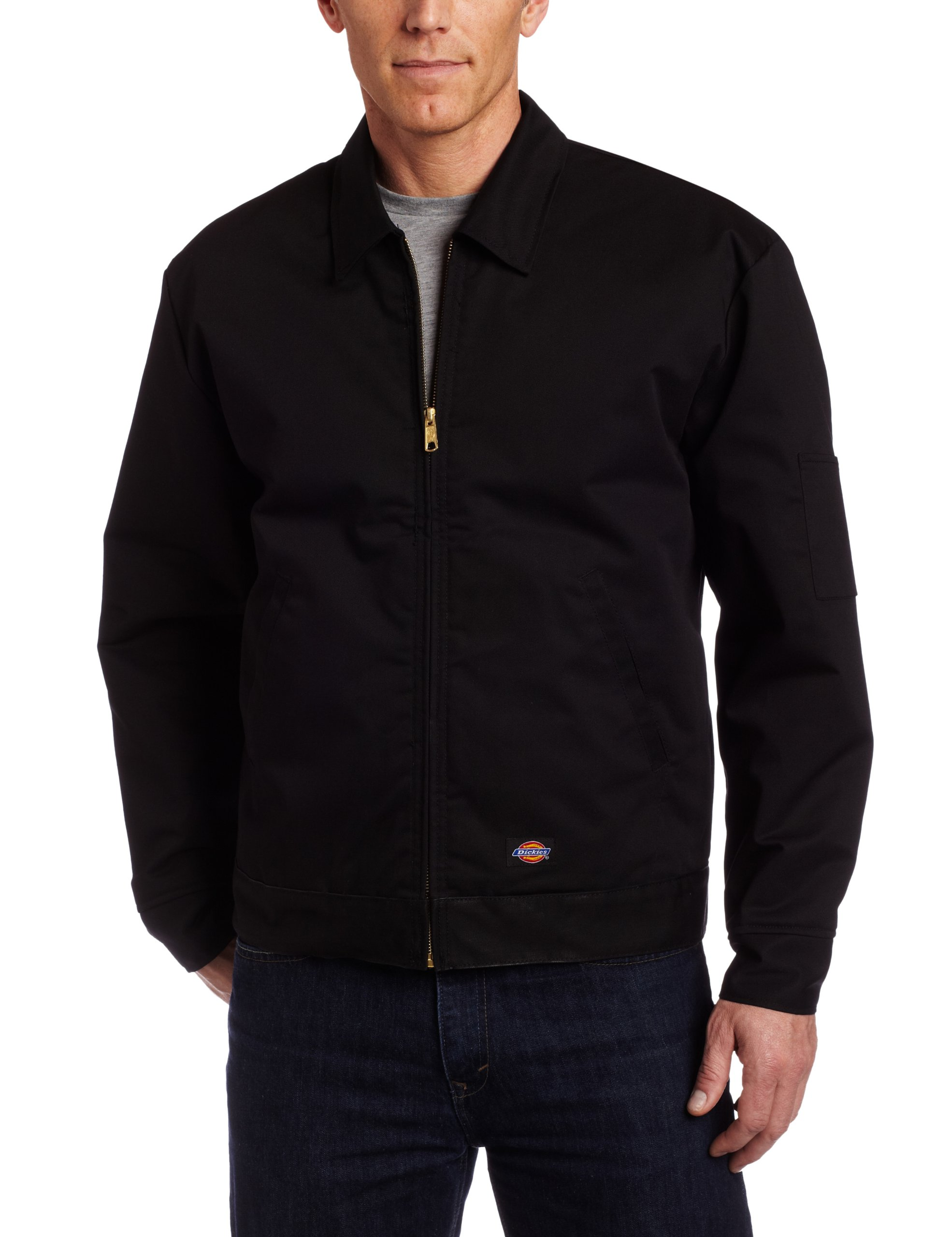 Dickies Men's Big-Tall Insulated Eisenhower Jacket, Black, X-Large Tall by dickies