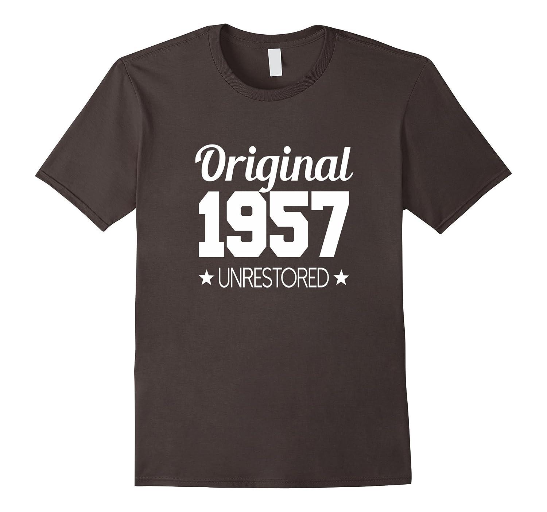 1957 T-shirt 60th Birthday Funny B-day Gag Joke Novelty Yr-PL