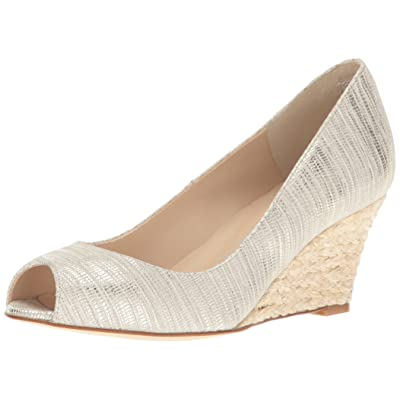 L.K. Bennett Women's Zelita-Str Wedge Pump | Pumps